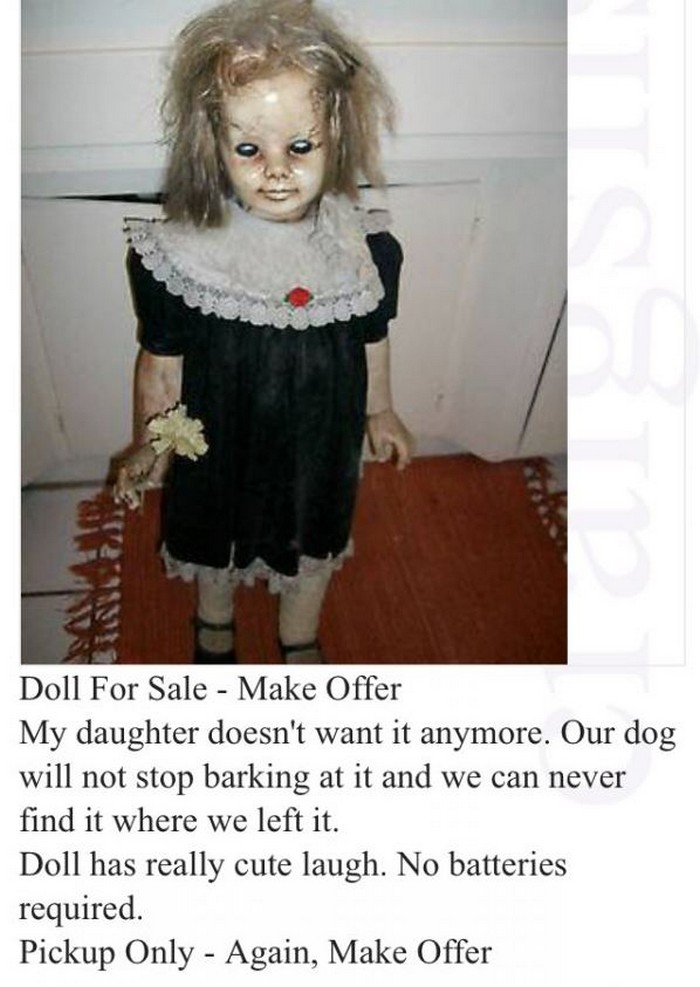 weirdest Craigslist ads ever
